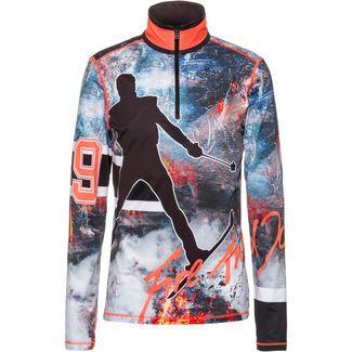 Bogner Fire + Ice Pascal Funktionsshirt Herren lightning red