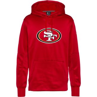 Nike San Francisco 49ers Hoodie Herren gym red-club gold