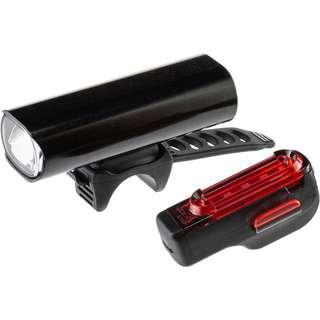 Lezyne Beleuchtungsset Lite Pro 115 Fahrradbeleuchtung schwarz