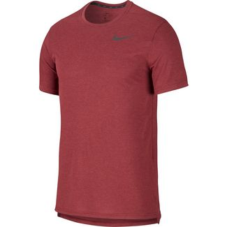 Nike Breathe Hyper Dry Funktionsshirt Herren night maroon-htr-black
