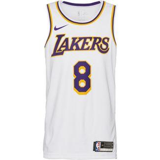 Nike Kobe Bryant Los Angeles Lakers Basketballtrikot Herren white-amarillo