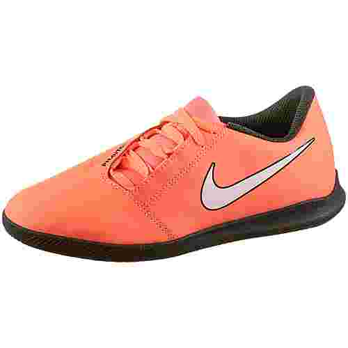 Nike JR PHANTOM VENOM CLUB IC Fußballschuhe Kinder bright mango-white-anthracite