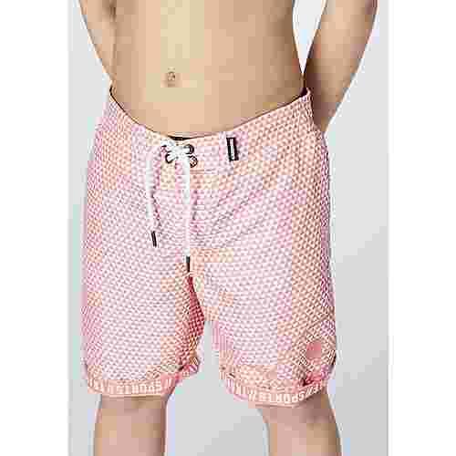 Chiemsee Badeshorts Kids Badeshorts Kinder Pink/White STR