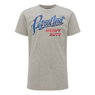 Petrol Industries T-Shirt Kinder Light Grey Melee