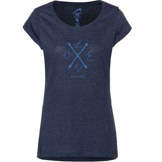 Maui Wowie T-Shirt Damen blau