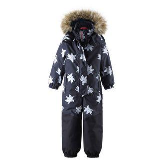reima Oulu Schneeanzug Kinder schwarz
