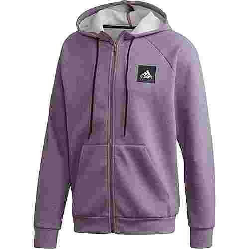 adidas Mhe Sweatjacke Herren legacy purple mel im Online Shop von SportScheck kaufen
