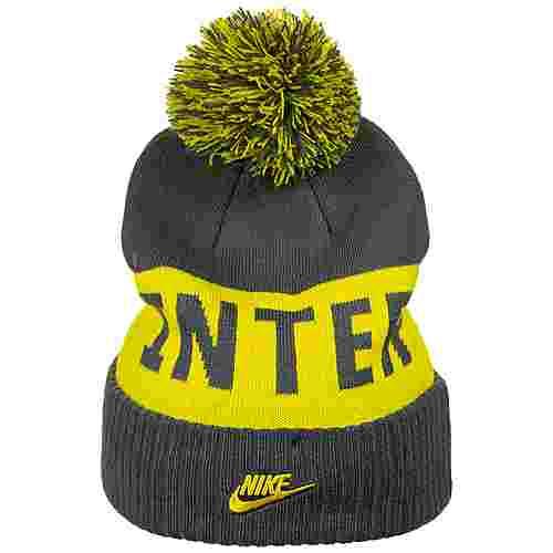 Nike Inter Mailand Pom Beanie Herren dunkelgrau / gelb
