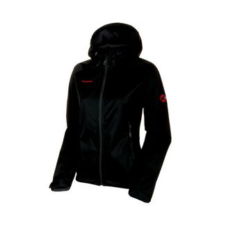 Mammut Clion Advanced SO Hooded Jacket ES Women Softshelljacke Damen black