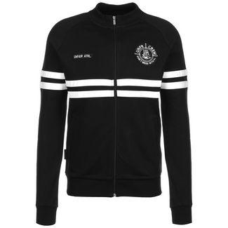 Unfair Athletics DMWU Cotton Sweatjacke Herren schwarz / weiß