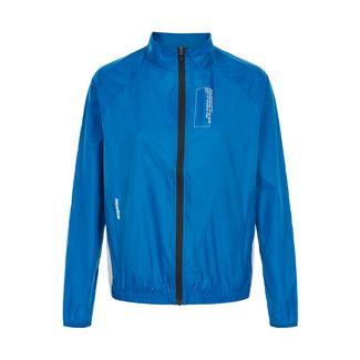 New Line Black Track Jacket Laufjacke Damen Bright Blue