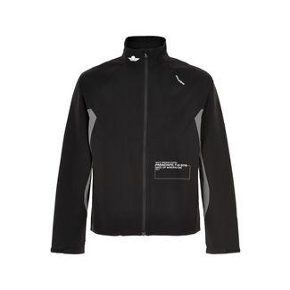 New Line Black Training Utility Jacket Laufjacke Herren Black