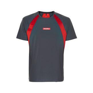 New Line Black Feather Tee Laufshirt Herren Titanium