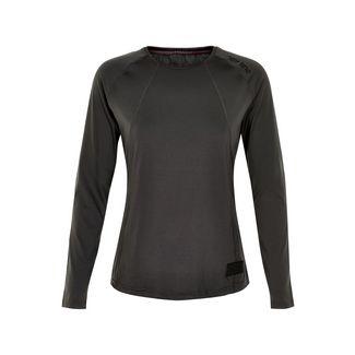 New Line BLACK Airflow Shirt Laufshirt Damen Dark Grey