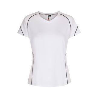 New Line Base Coolskin Tee Laufshirt Damen White
