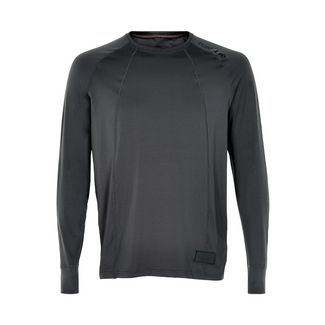 New Line BLACK Airflow Shirt Laufshirt Herren Dark Grey