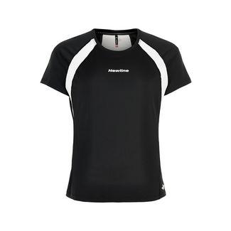New Line Black Feather Tee Laufshirt Damen Black