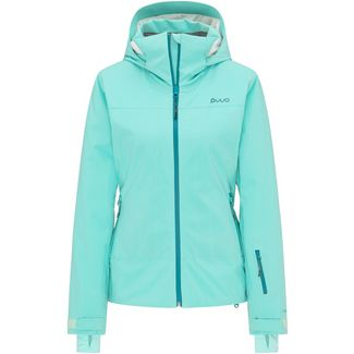PYUA Blister Skijacke Damen pool blue