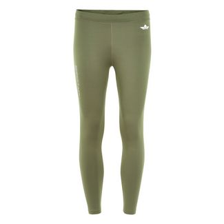 New Line Black 7/8 Tights Lauftights Damen Para Green