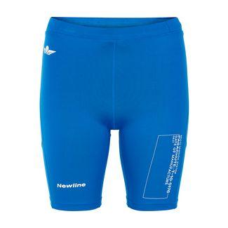 New Line Black Tech Sprinters Lauftights Damen Bright Blue