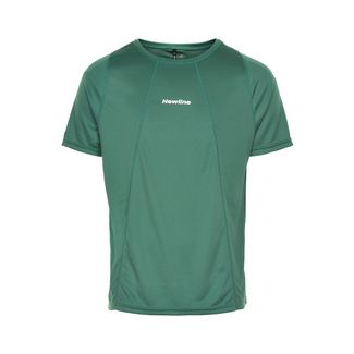 New Line Black Tech Tee Laufshirt Herren Mallard Green