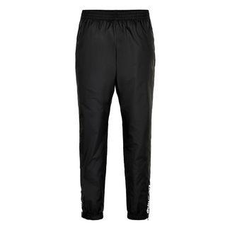 New Line Black Track Pants Laufhose Herren Black