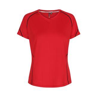 New Line Base Coolskin Tee Laufshirt Damen Red