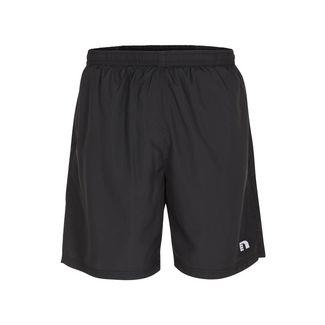 New Line Base 2 Layer Shorts Laufshorts Herren Black