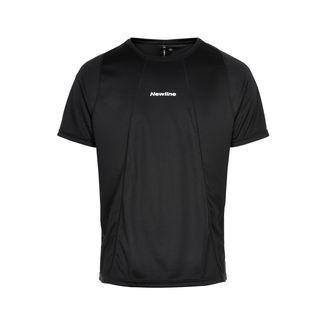 New Line Black Tech Tee Laufshirt Herren Black