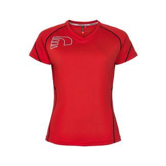New Line Core Coolskin Tee Laufshirt Damen Red