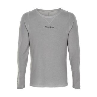 New Line Black shirt Laufshirt Herren Wet Grey