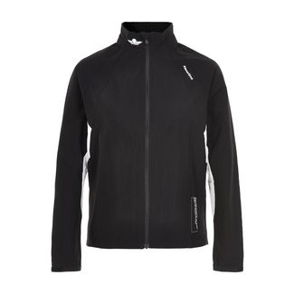 New Line Black Training Utility Jacket Laufjacke Damen Black