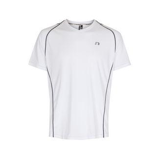 New Line Base Coolskin Tee Laufshirt Herren White