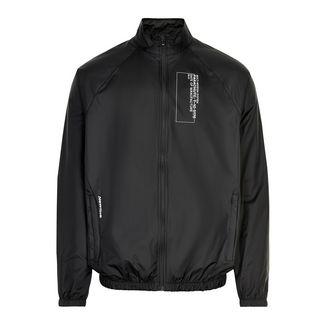 New Line Black Track Jacket Laufjacke Herren Black