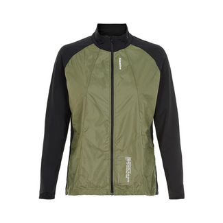 New Line Black Windbreaker Shirt Laufjacke Damen Para Green
