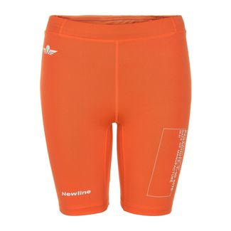 New Line Black Tech Sprinters Lauftights Damen Soft Orange
