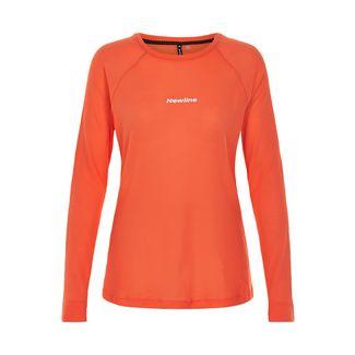 New Line Black shirt Laufshirt Damen Soft Orange