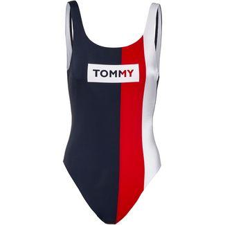 Tommy Hilfiger Tommy Bold Badeanzug Damen tango red