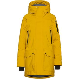 Peak Performance Hyperpk Parka Damen Yellow Flow