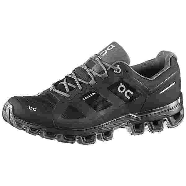 ON Cloudventure Waterproof Trailrunning Schuhe Damen black-graphit
