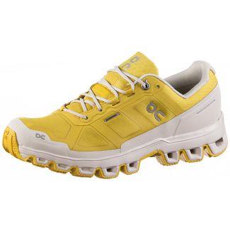 ON Cloudventure Waterproof Trailrunning Schuhe Damen mustard-pearl