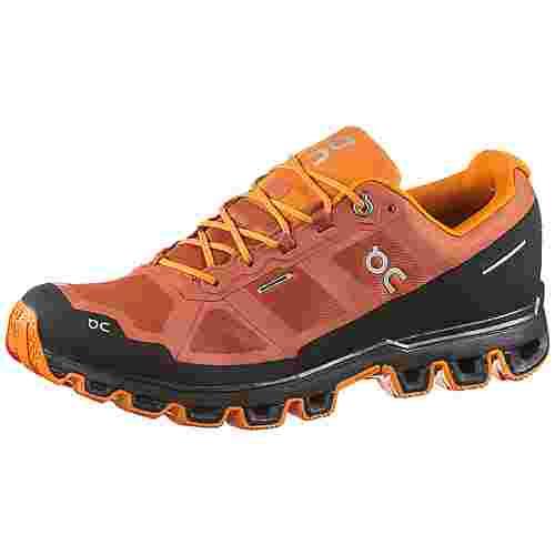 ON Cloudventure Waterproof Trailrunning Schuhe Herren rust-orange