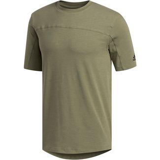adidas City Base T-Shirt Herren legacy green