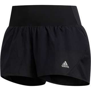 adidas 3-STRIPES RUNNING RESPONSE AEROREADY Funktionsshorts Damen black