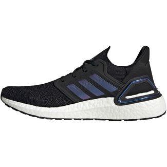 adidas Ultraboost 20 Laufschuhe Herren core black-boost blue violet met.-ftwr white
