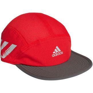 adidas 5P Run Cap Herren scarlet-grey