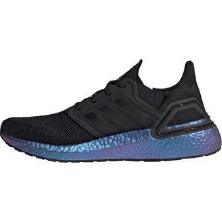 adidas Ultraboost 20 Laufschuhe Herren core black-core black-boost blue violet met.