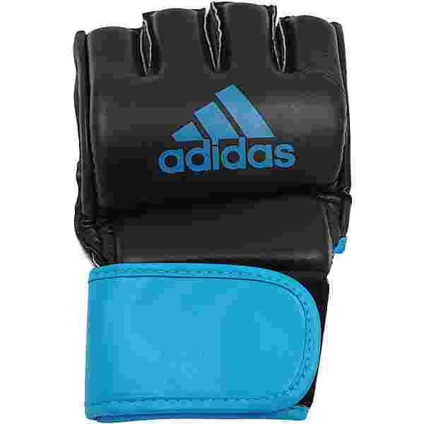 adidas MMA GRAPPLING Training Boxhandschuhe schwarz-blau