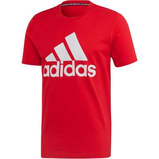 adidas MH BOS T-Shirt Herren scarlet