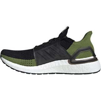 adidas UltraBoost 19 Laufschuhe Herren core black-olive